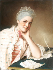 Gallery print  Mademoiselle Louise Jacquet - Jean Etienne Liotard
