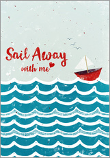 Wall Stickers Sail Away
