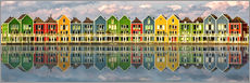 Wall sticker  The colorful houses of Houten   Netherlands - Sabine Wagner