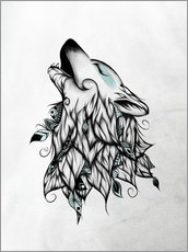 Gallery print  The Wolf - LouJah