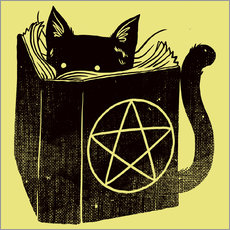 Gallery print  Witchcraft Cat - Tobe Fonseca