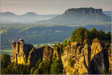 Wall sticker  Saxon Switzerland - Bastei - Mikolaj Gospodarek