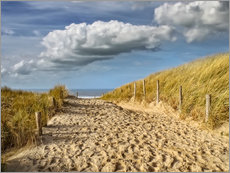 Gallery print  Through the dunes to the beach - Peter Roder
