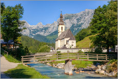 Michael Valjak - Chapel in Ramsau in Bavaria
