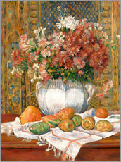 Wall sticker  Still Life with Flowers and Prickly Pears - Pierre-Auguste Renoir