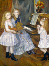 Wall sticker  The Daughters of Catulle Mendès - Pierre-Auguste Renoir