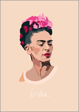 Wall Stickers  Frida Kahlo - Anna McKay