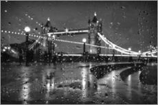 Gallery print  Tower Bridge Tears London - Alex Saberi
