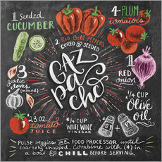 Wall sticker  Gazpacho recipe - Lily & Val