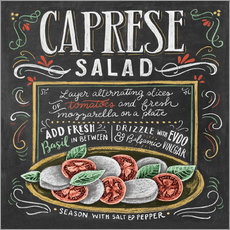 Wall sticker  Caprese Salad recipe - Lily & Val