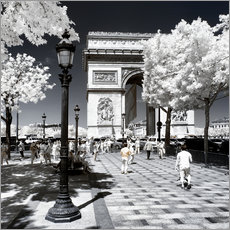 Gallery print  Infrared - Champs-Elysées Paris - Philippe HUGONNARD