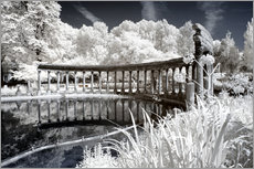 Gallery print  Infrared - Ancient architecture - Philippe HUGONNARD