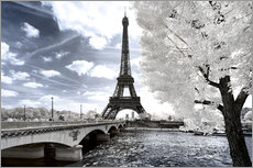 Wall Stickers  Another Look - Paris Eiffel Tower - Philippe HUGONNARD