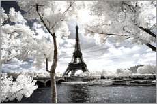 Gallery print  Infrared - Paris Eiffel Tower - Philippe HUGONNARD