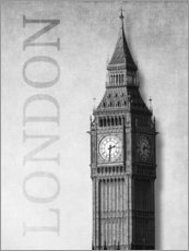 Wall sticker  London - Big Ben - Alex Saberi