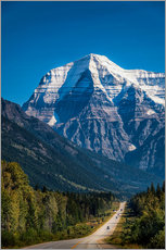 Wall Stickers  Mount Robson - Andreas Kossmann