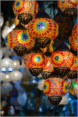 Wall sticker  Mosaic lanterns in Istanbul