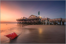 Gallery print  Beach Bar 54 ° Nord - St. Peter-Ording - Dirk Wiemer