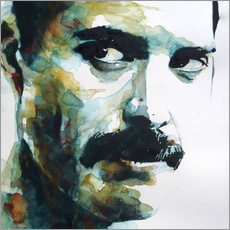 Gallery print  Freddie Mercury - Paul Lovering