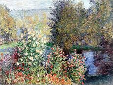 Gallery print  The corner - Claude Monet