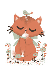 Gallery print  Animal friends - The cat - Kanzilue