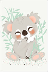 Gallery print  Animal friends - the koala - Kanzilue