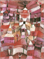 Wall sticker  Rose garden - Paul Klee