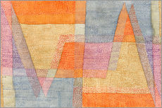 Gallery print  Light and Sharpness - Paul Klee