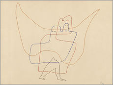 Wall Stickers  Angels Shut - Paul Klee