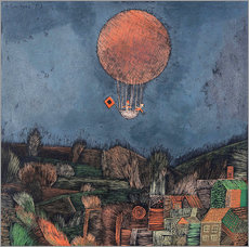 Wall sticker  The balloon - Paul Klee