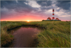 Wall sticker  Terp Inferno (Westerhever Lighthouse) - Dirk Wiemer