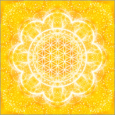 Wall Stickers Flower of Life - Light Power