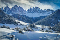 Wall sticker  Winter in Dolomites - Ramdan Rashid