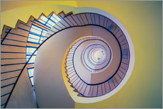 Gallery print  Staircase in crayon - MUXPIX