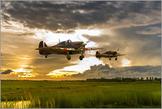 Gallery print  Hurricanes Come Home - airpowerart