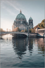 Wall sticker  Berliner Dom in rising autumn light - Philipp Dase