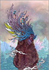 Gallery print  Journeying Spirit (bear) - Mat Miller