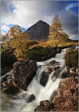 Wall Stickers  Scotland in Autumn - Buchaille Etive Mor - Martina Cross