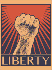 Wall sticker  Liberty