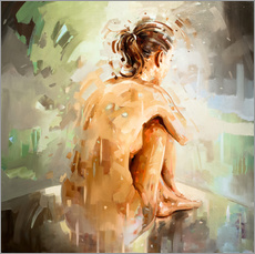 Gallery print  The busy mind - Johnny Morant