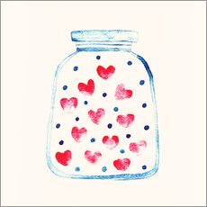 Wall sticker  Love in a glass - Kidz Collection