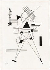 Wall Stickers  Lithograph no. I - Wassily Kandinsky
