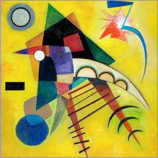 Wall sticker  White point - Wassily Kandinsky