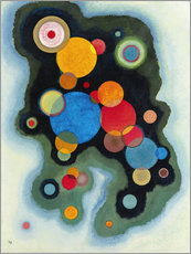 Wall sticker  Profound Emotion - Wassily Kandinsky