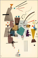 Wall sticker  warmed cold - Wassily Kandinsky