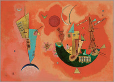 Wall sticker  With and against - Wassily Kandinsky