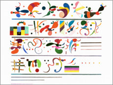 Gallery print  Succession - Wassily Kandinsky