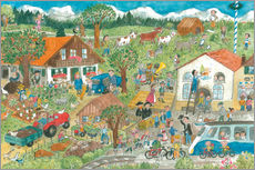 Wall Stickers  farm - Annegret Reimann