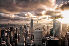 Gallery print  Sunset New York - Sören Bartosch