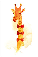 Wall sticker  Elegant giraffe - Robert Farkas
